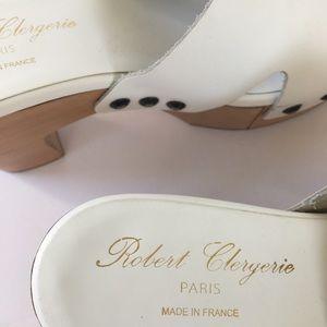 Robert Clergerie Shoes - Robert Clergerie white platform sandals